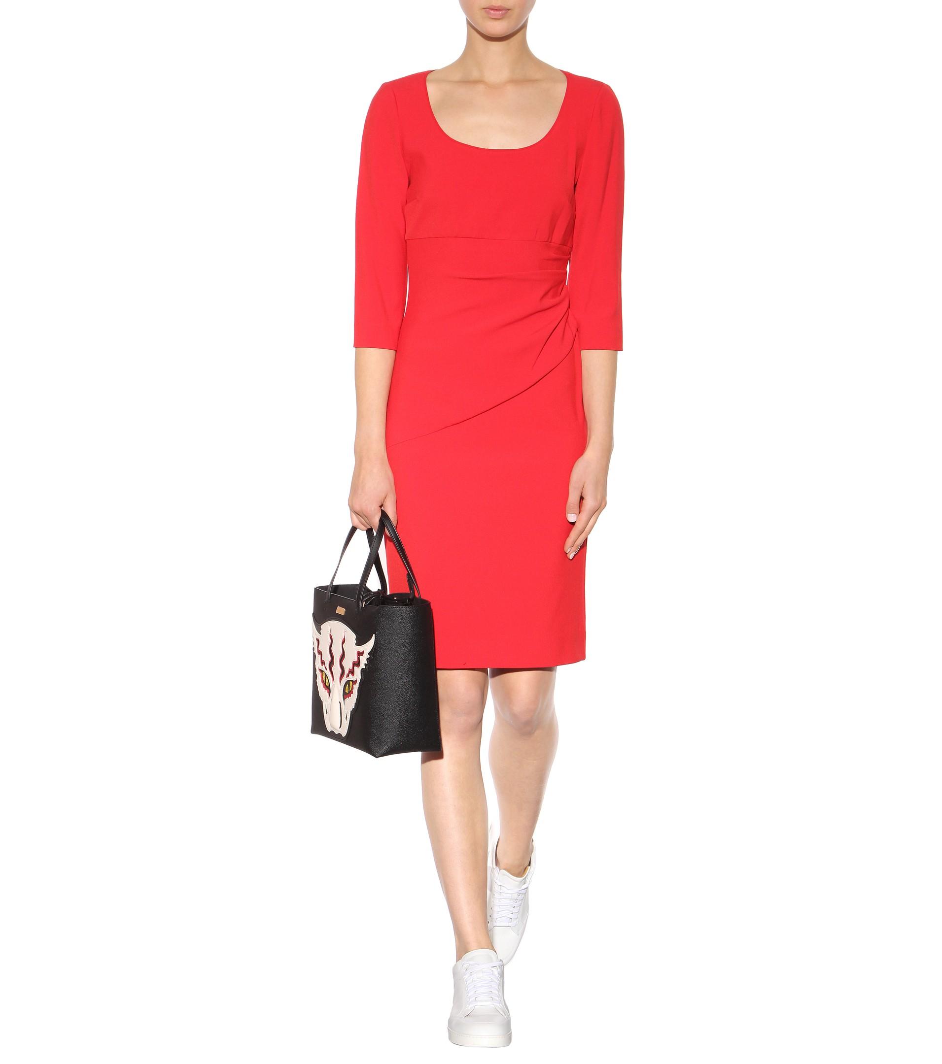 18a418fdec3 Diane von Furstenberg Lillian Dress in Red - Lyst