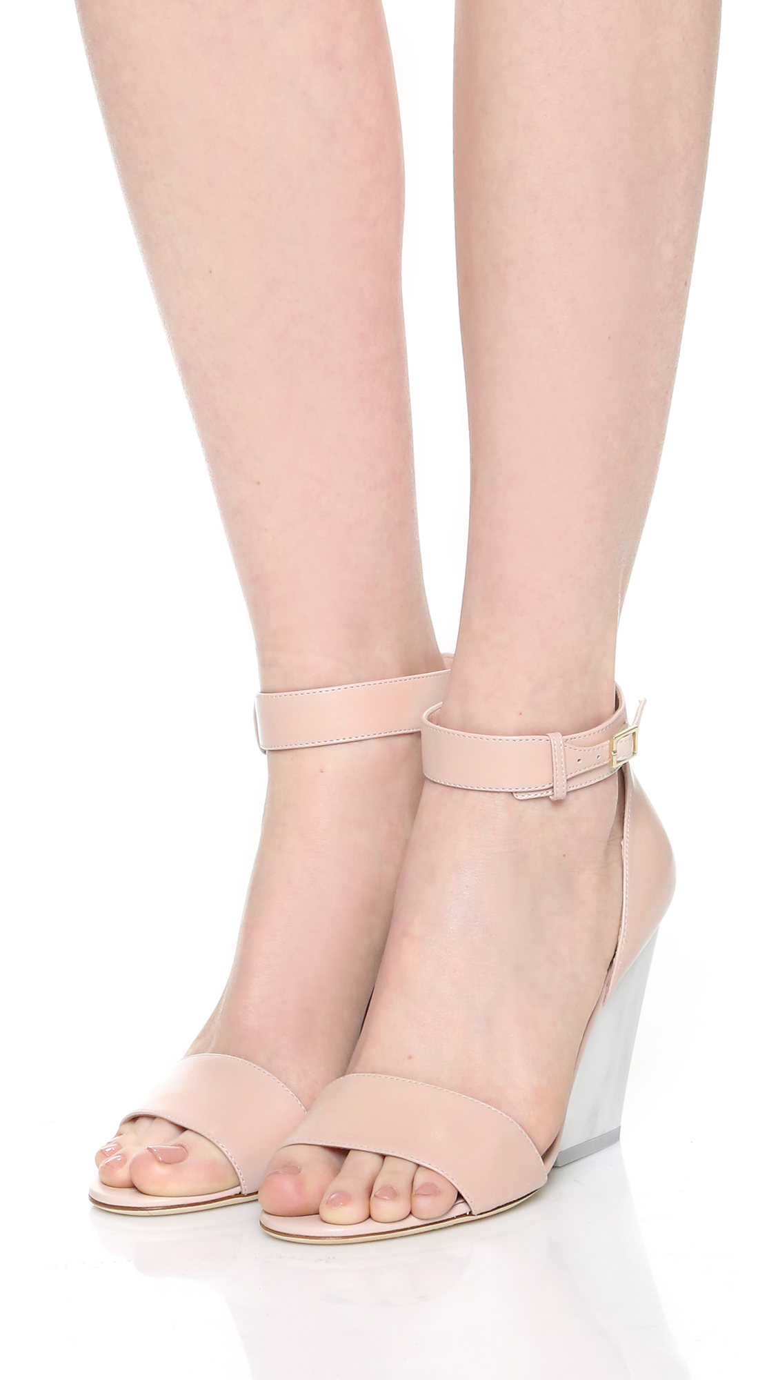 Lyst - Kate Spade New York Indiana Wedge Sandals In Pink-9852