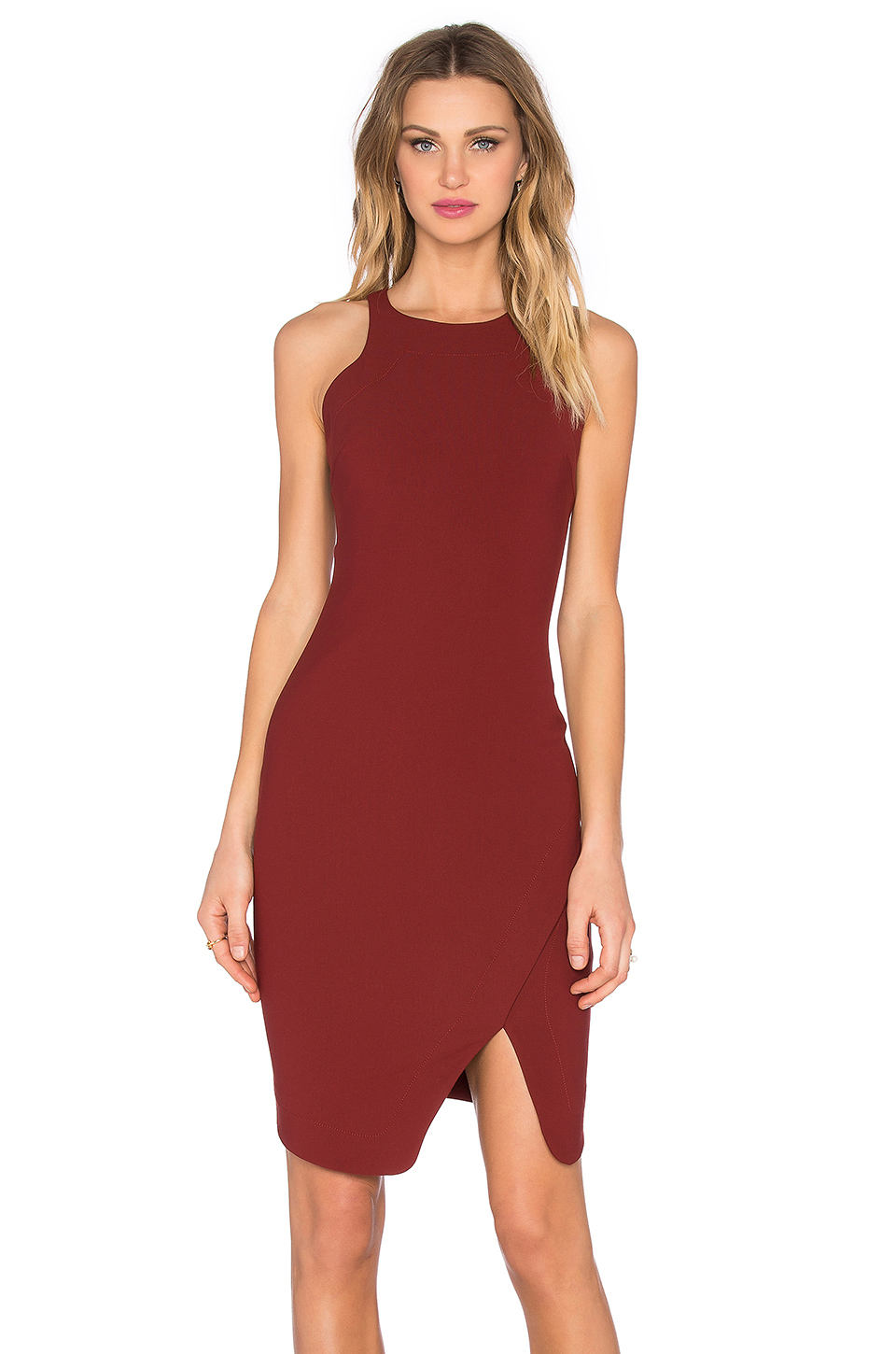 Lyst Elizabeth And James Bardot Dress In Red