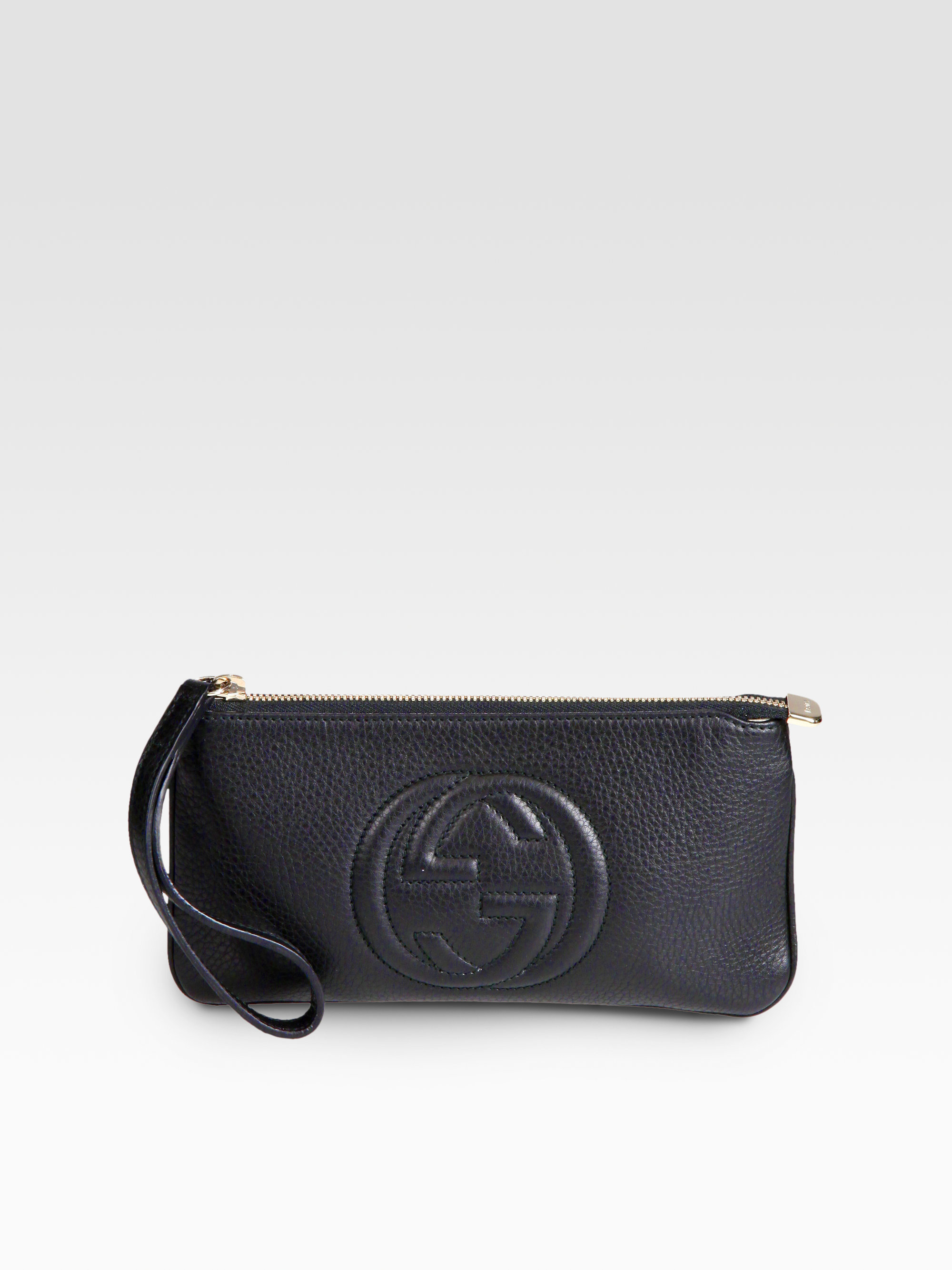 a1627b48b041 Gallery. Previously sold at: Saks Fifth Avenue · Women's Wristlets Women's Gucci  Soho Bag