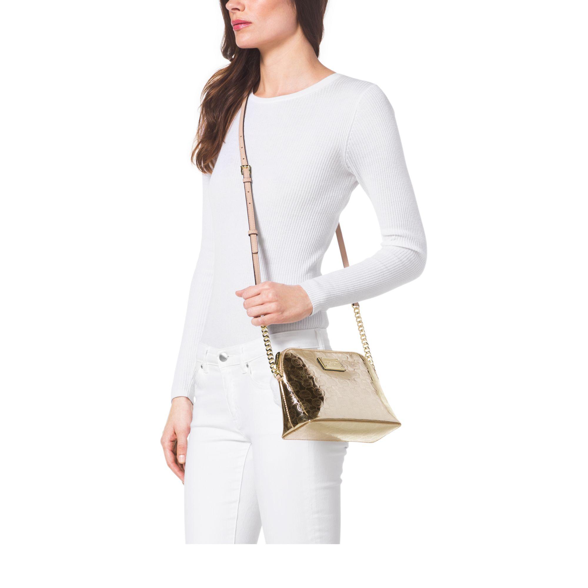 9c0789748d93 Gallery. Women s Michael Kors Cindy Women s Leather Messenger Bags ...