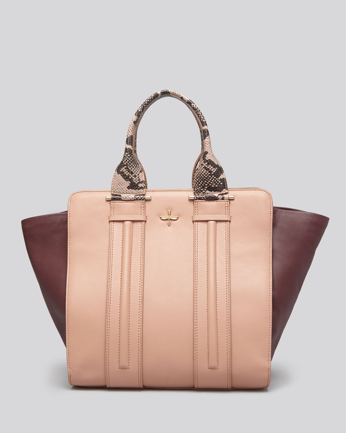 Pour La Victoire Tote Provence in Dusty Pink (Pink)