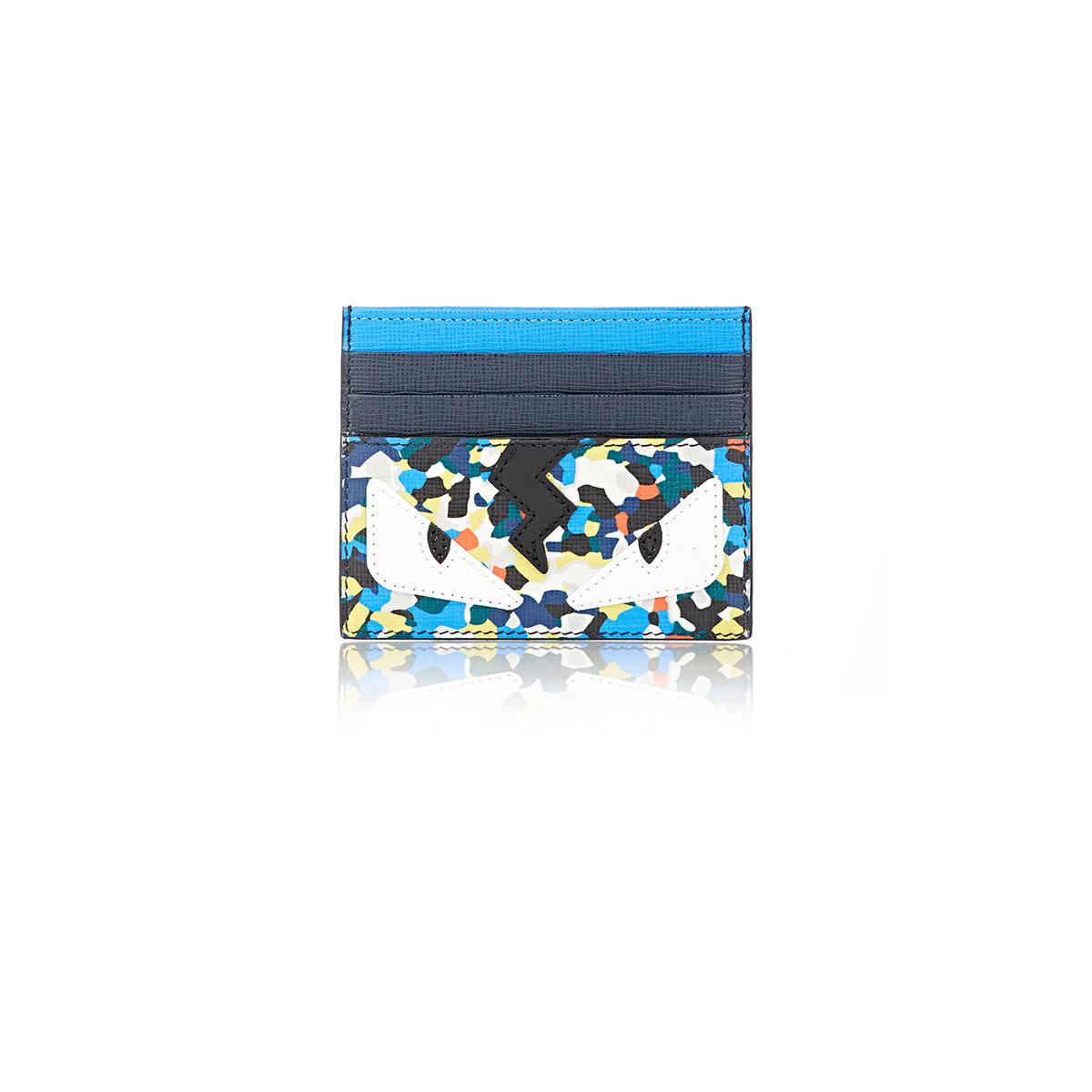 brand new 6c902 6b7f2 Fendi Multicolor Buggies Card Case