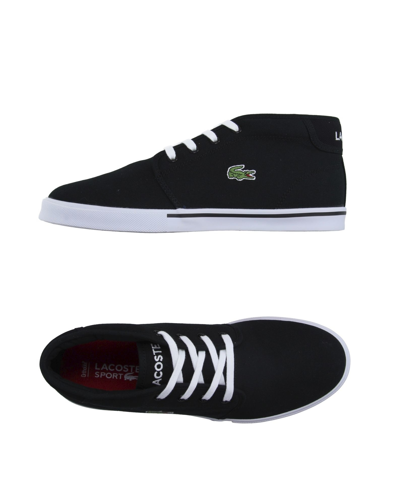 lacoste sport hightops amp trainers in multicolor for men
