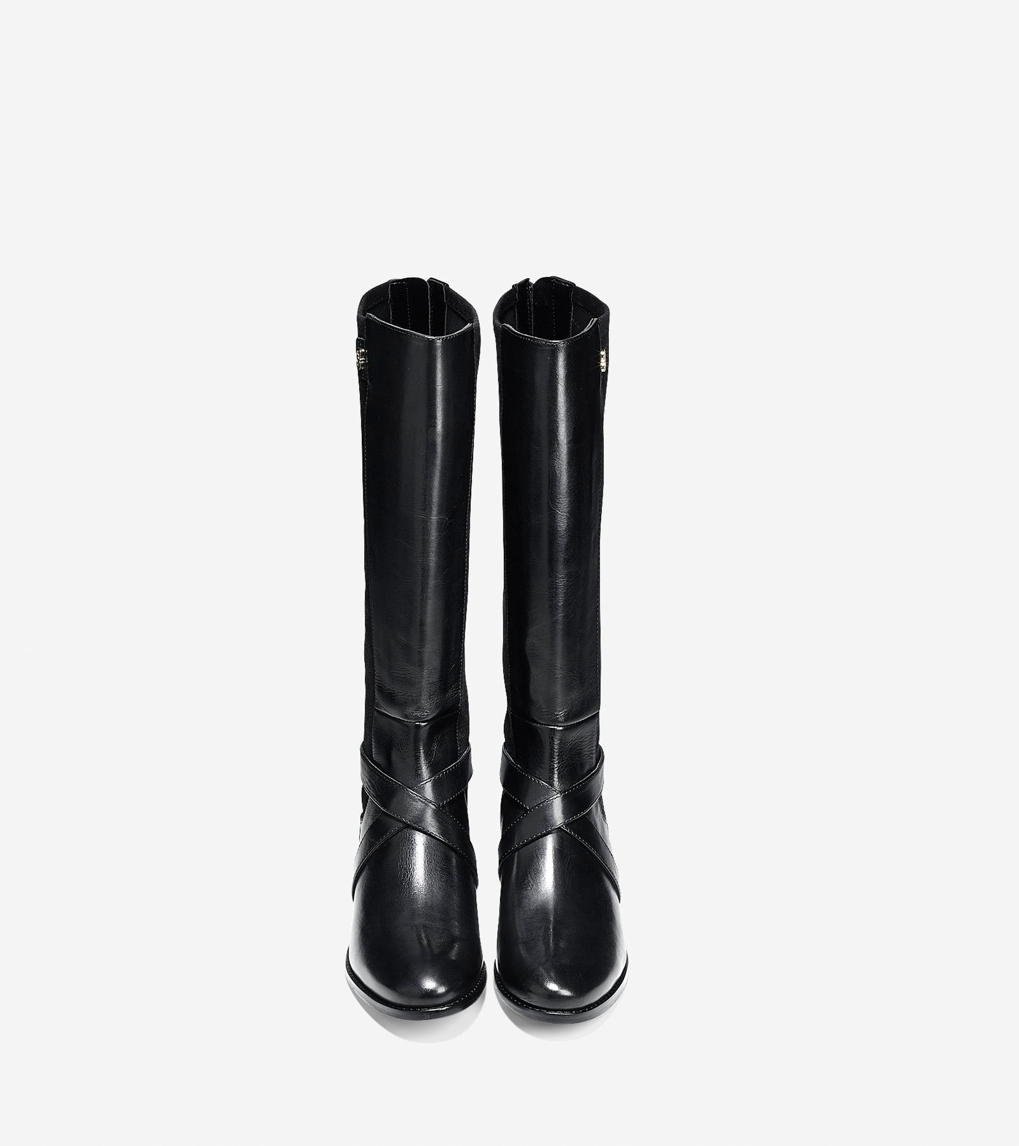 cole haan parsonage boot in black lyst