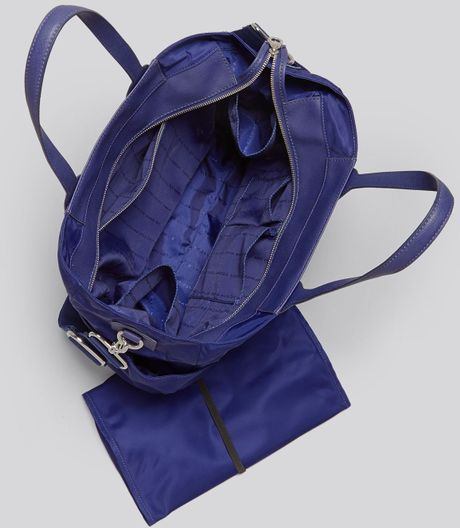 marc by marc jacobs diaper bag preppy nylon elizababy in blue deep ultraviol. Black Bedroom Furniture Sets. Home Design Ideas