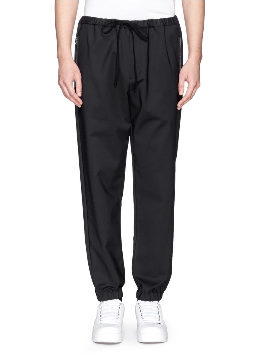 Lyst - 3.1 Phillip Lim Drawstring Utility Pants in Black for Men
