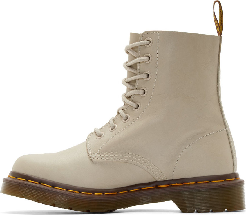 Dr. Martens Ivory Soft Leather Pascal