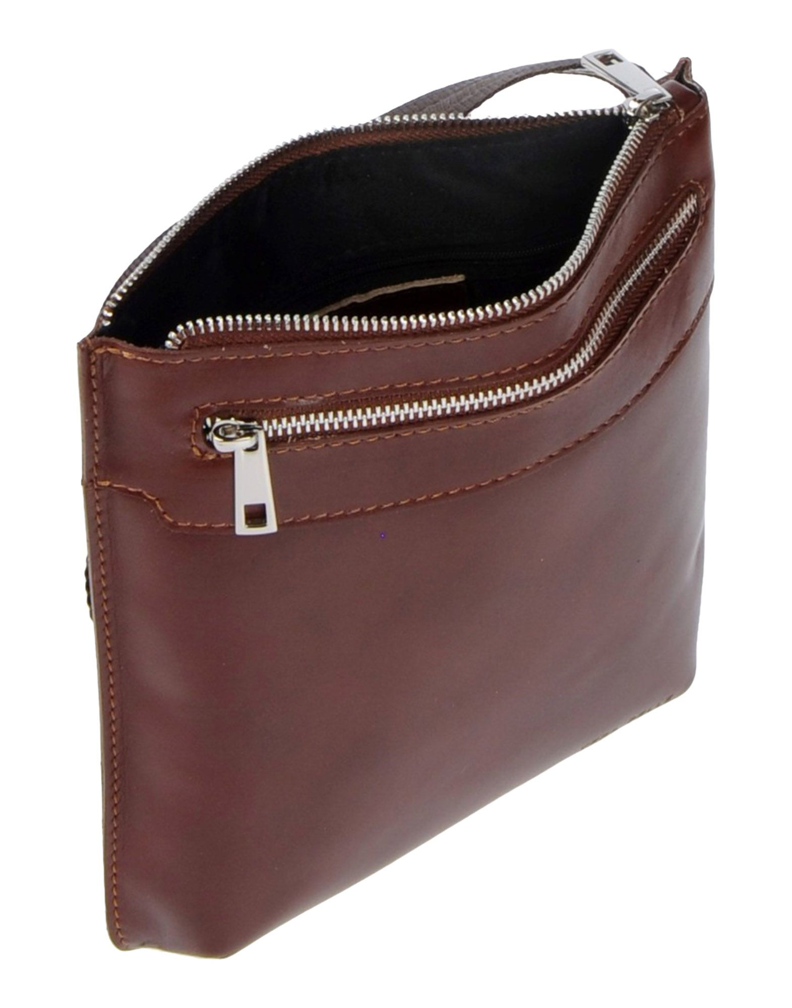 Ore10 Leather Cross-body Bag in Brown