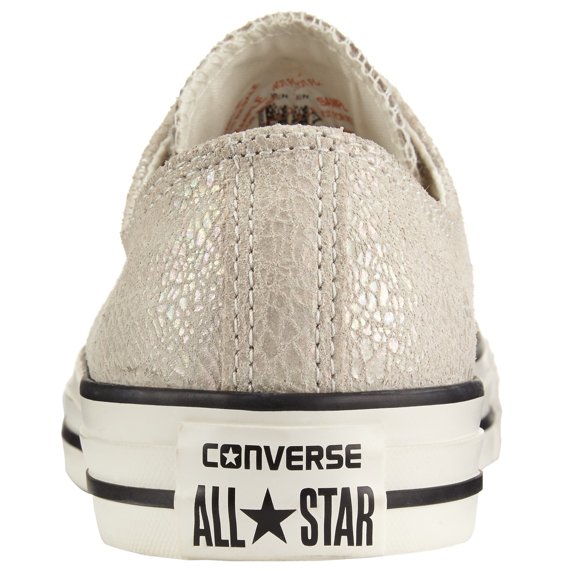 2af2cbd0d957 Converse Chuck Taylor All Star Ox Oil Slick Trainers in Metallic - Lyst