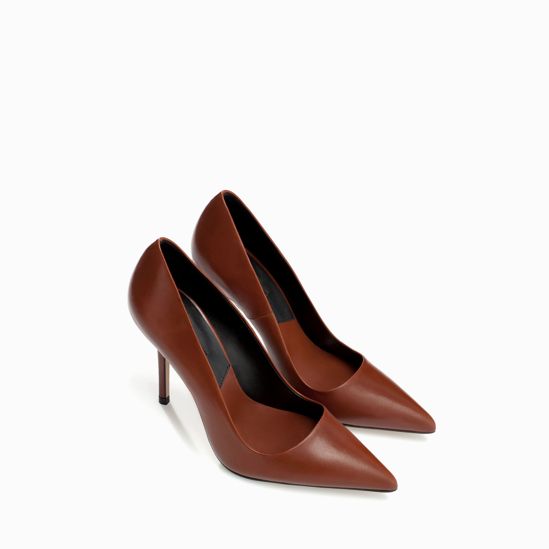 High Heel Brown Shoes