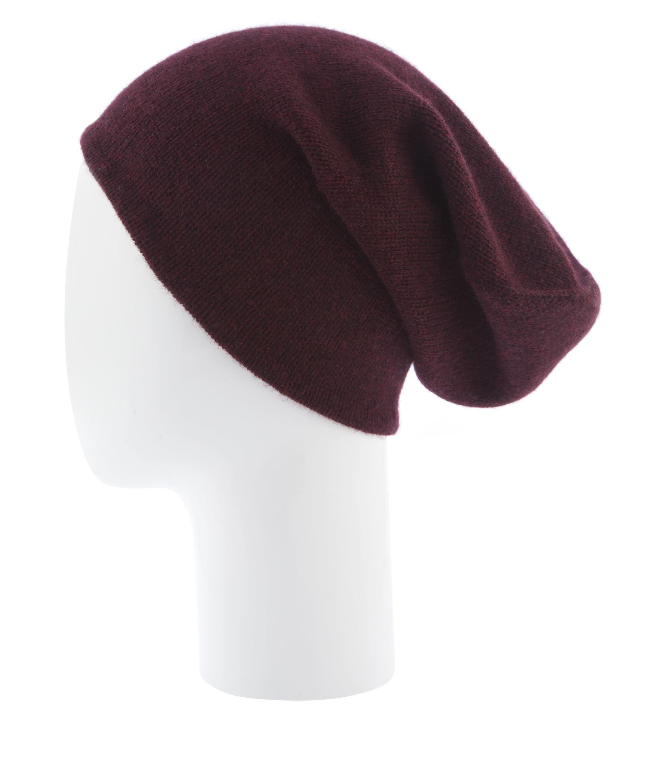 d21b20801ba Lyst - Henri Bendel Cashmere Hat in Purple