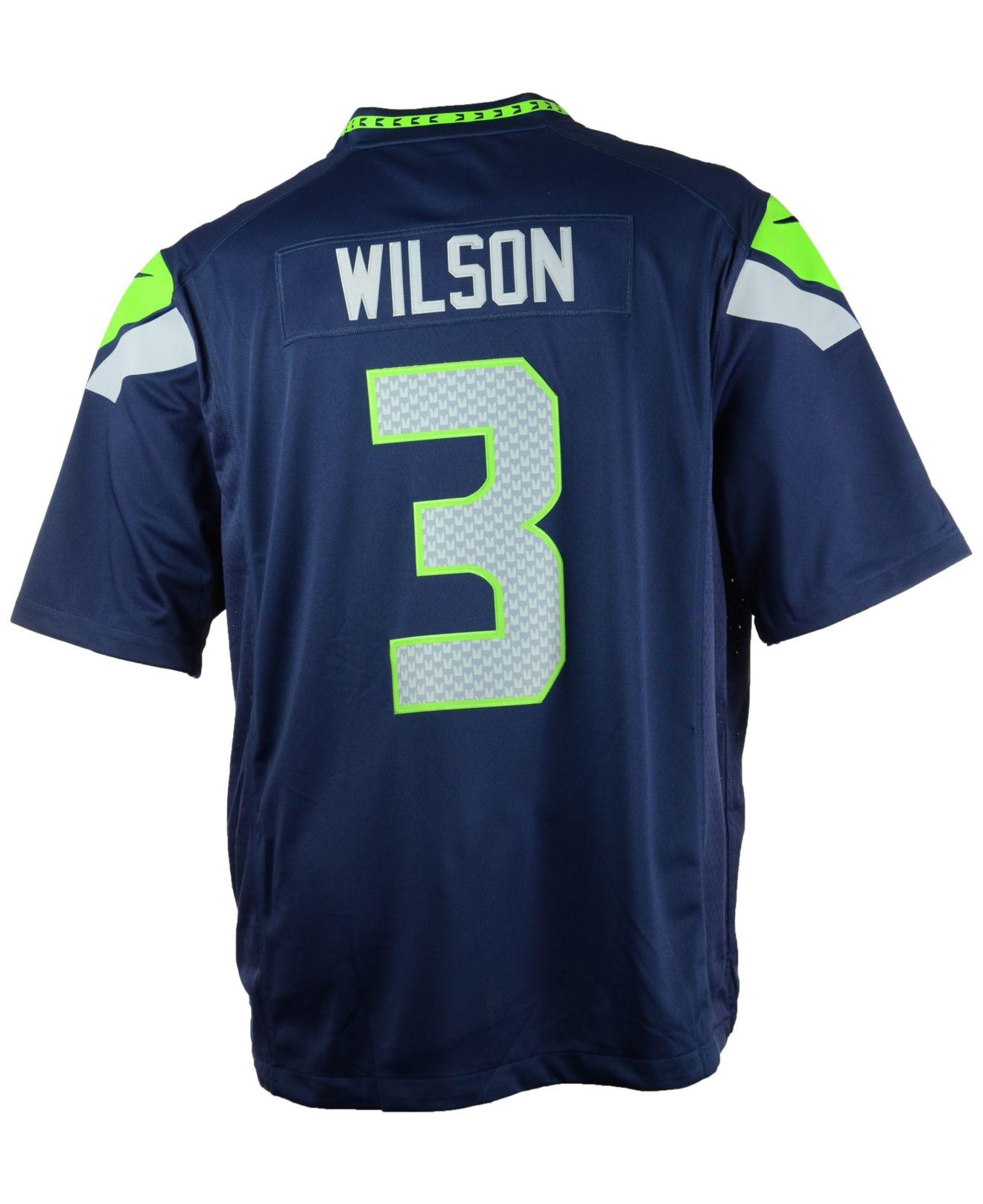 Seattle Seahawks Russell Wilson LIMITED Jerseys