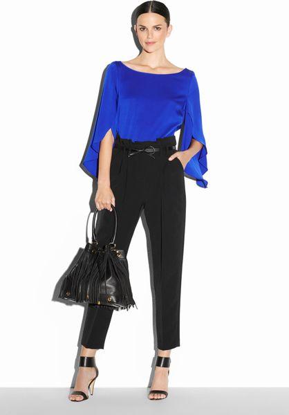 Zara Cobalt Blue Blouse 59