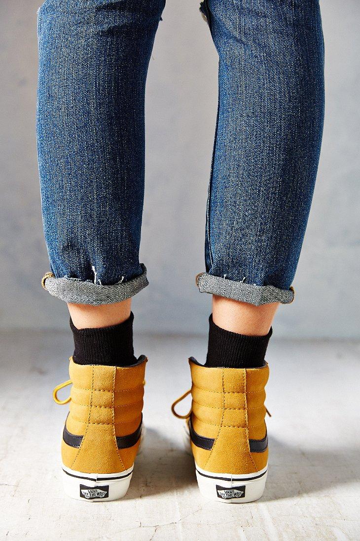 d0a6515d64 Vans Brown Sk8-Hi Slim Hiker Women'S Sneaker