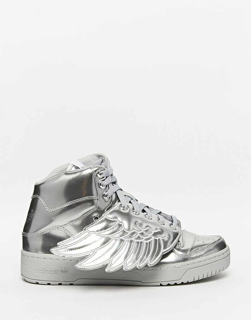 buy online a0ab2 9a01e Lyst - adidas Originals X Jeremy Scott Wings Metal Sneakers S77798 ...