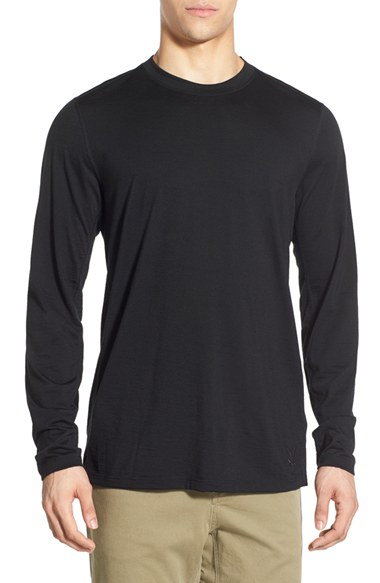 Ibex 39 all day 39 long sleeve merino wool jersey t shirt in for Merino long sleeve t shirt