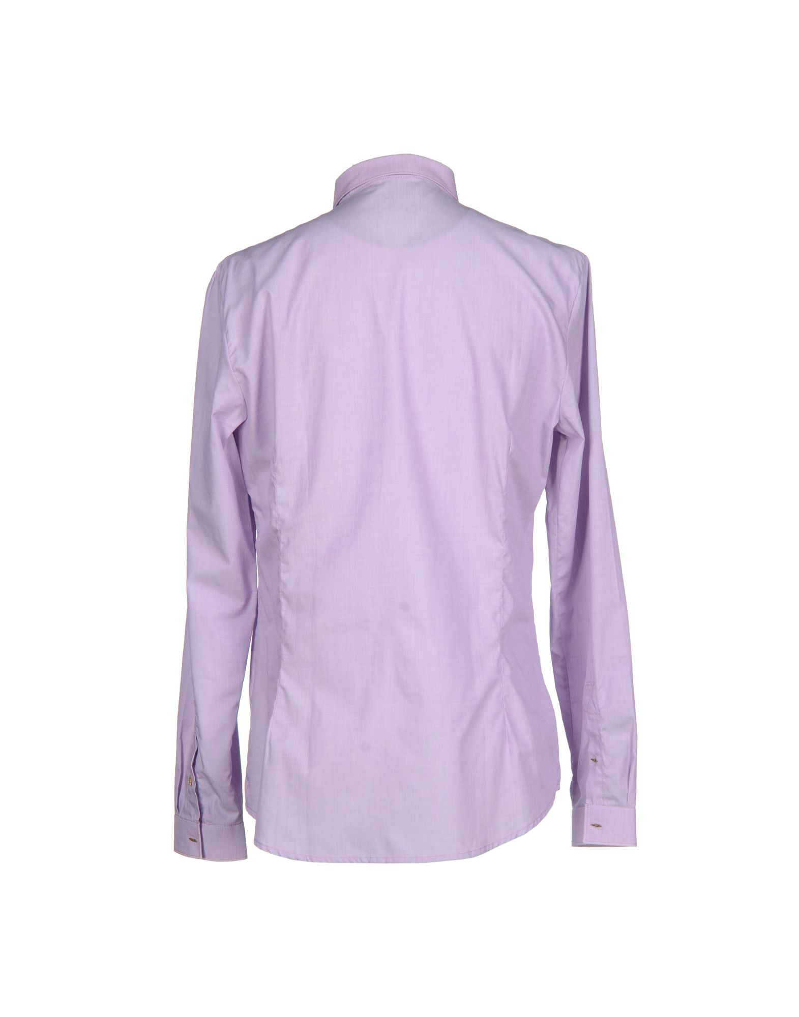 Frankie morello shirt in purple for men lyst Light purple dress shirt men