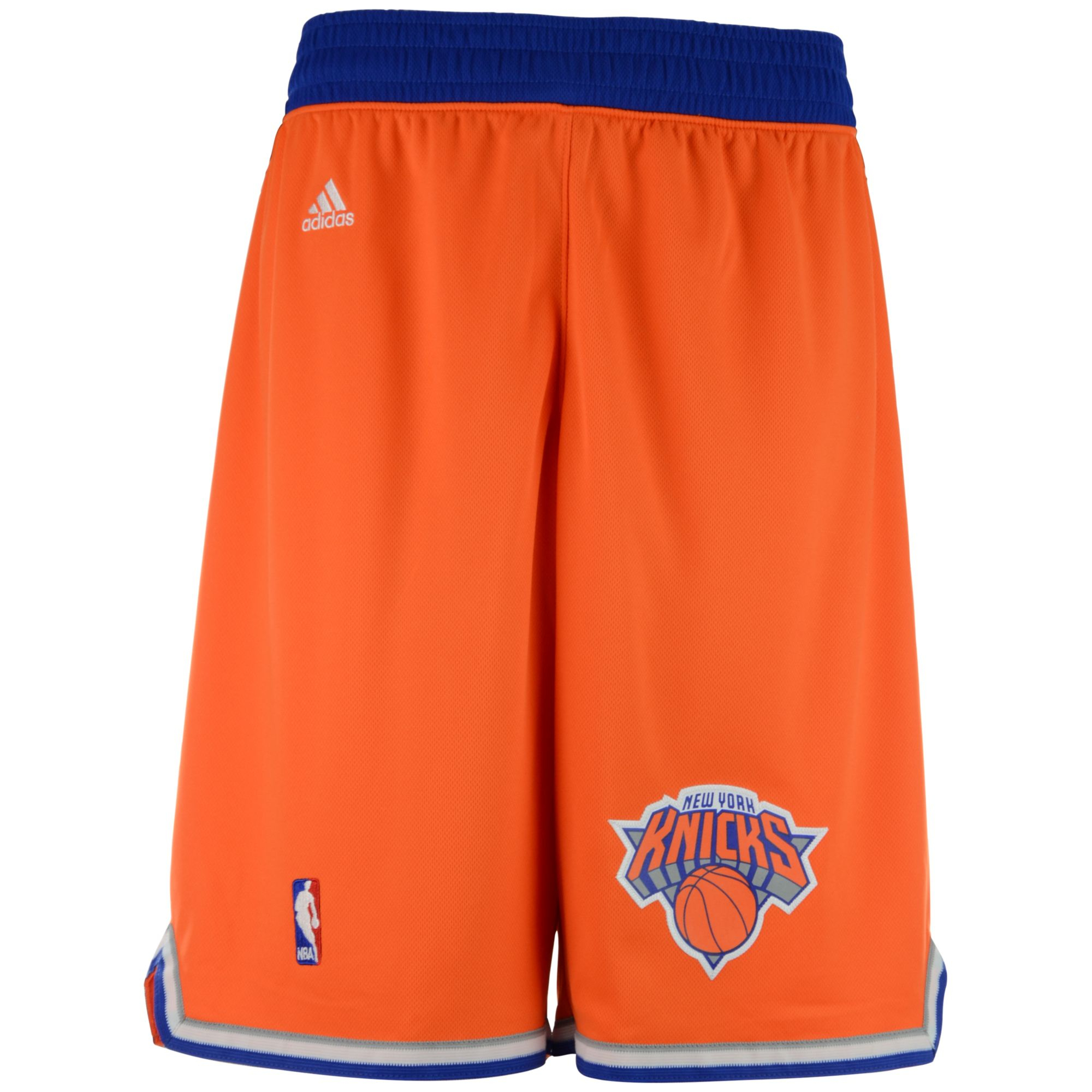 61fb1cc9109 ... promo code for lyst adidas mens new york knicks swingman shorts in  orange for men a1c69