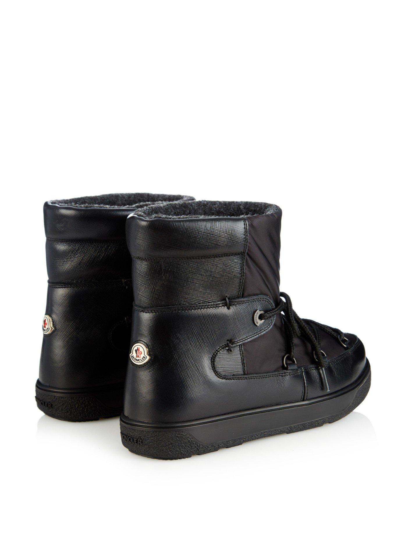 Moncler Fanny Aprés-Ski Boots in Black - Lyst 89696237d97
