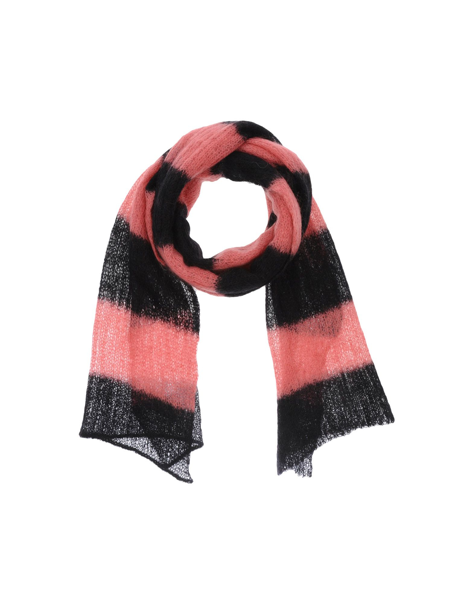 25 10 per maurizio collection oblong scarf in pink pastel