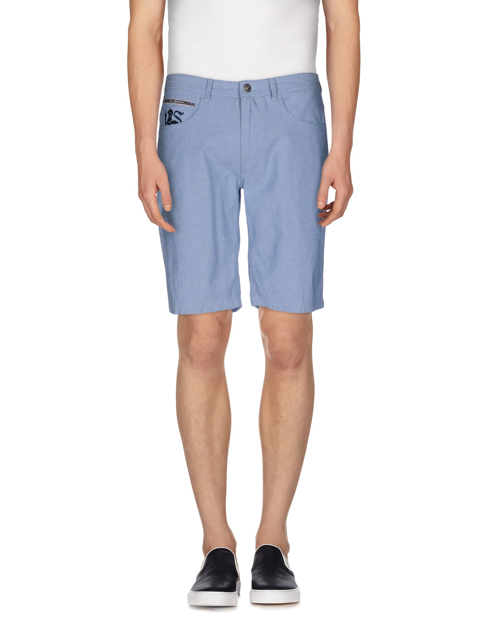 pepe jeans bermuda shorts in blue for men lyst. Black Bedroom Furniture Sets. Home Design Ideas