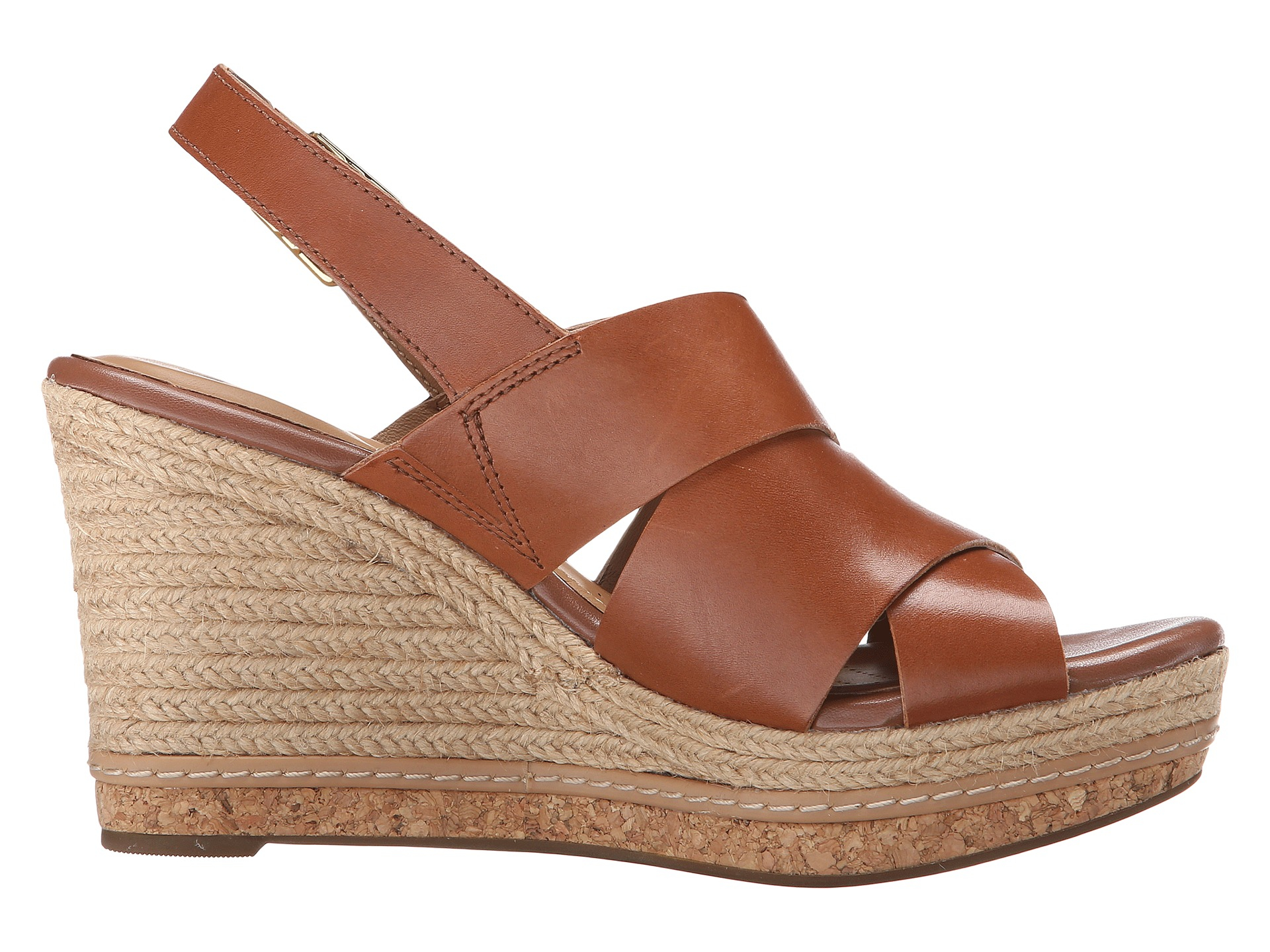 Clarks Amelia Dally In Brown Lyst