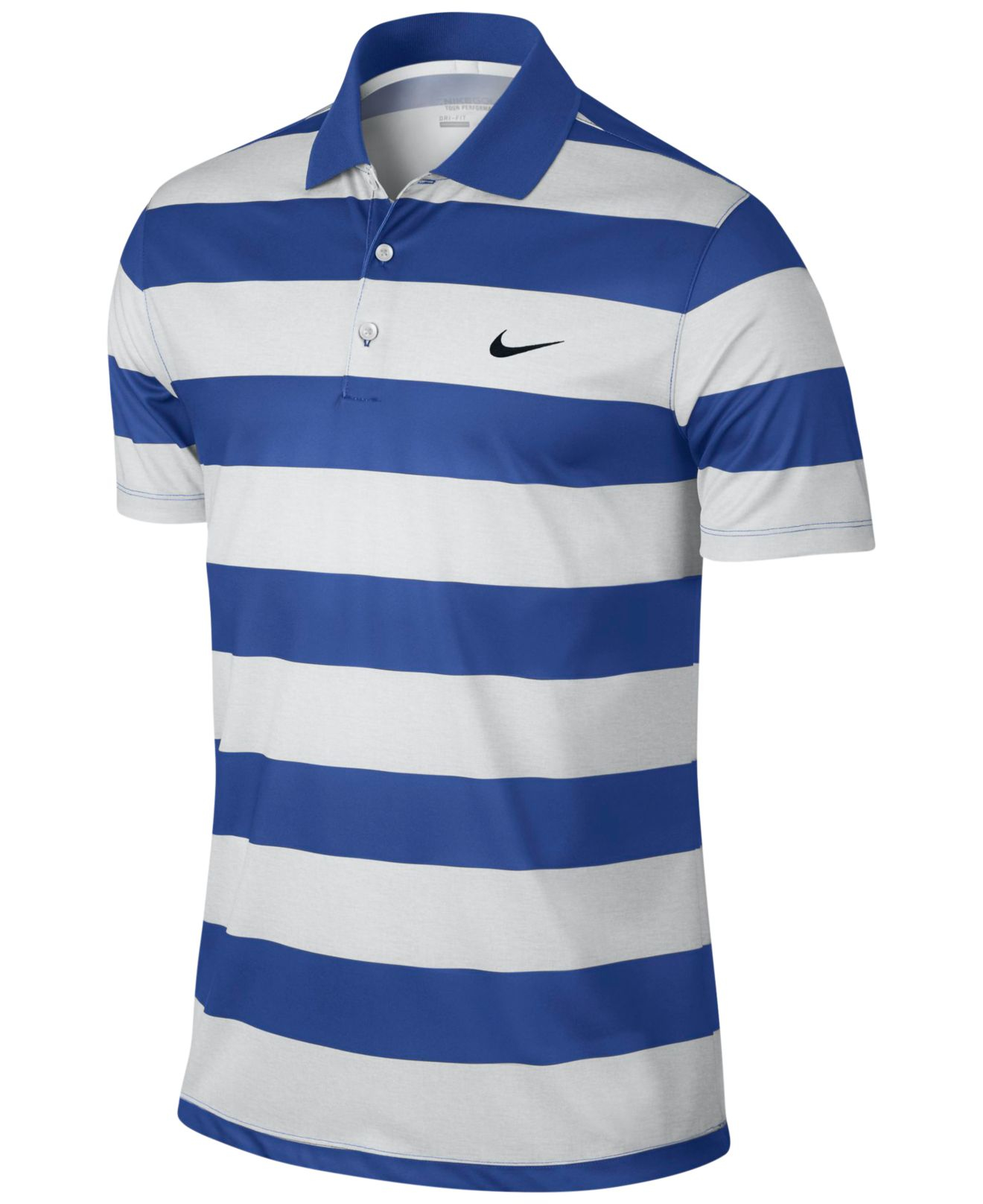 Nike men 39 s victory bold dri fit golf polo in white for men for Nike dri fit victory golf shirts