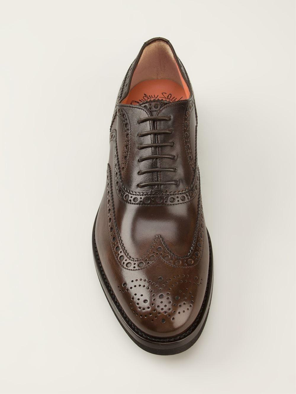 santoni Brogue shoes 88mmp1zbO