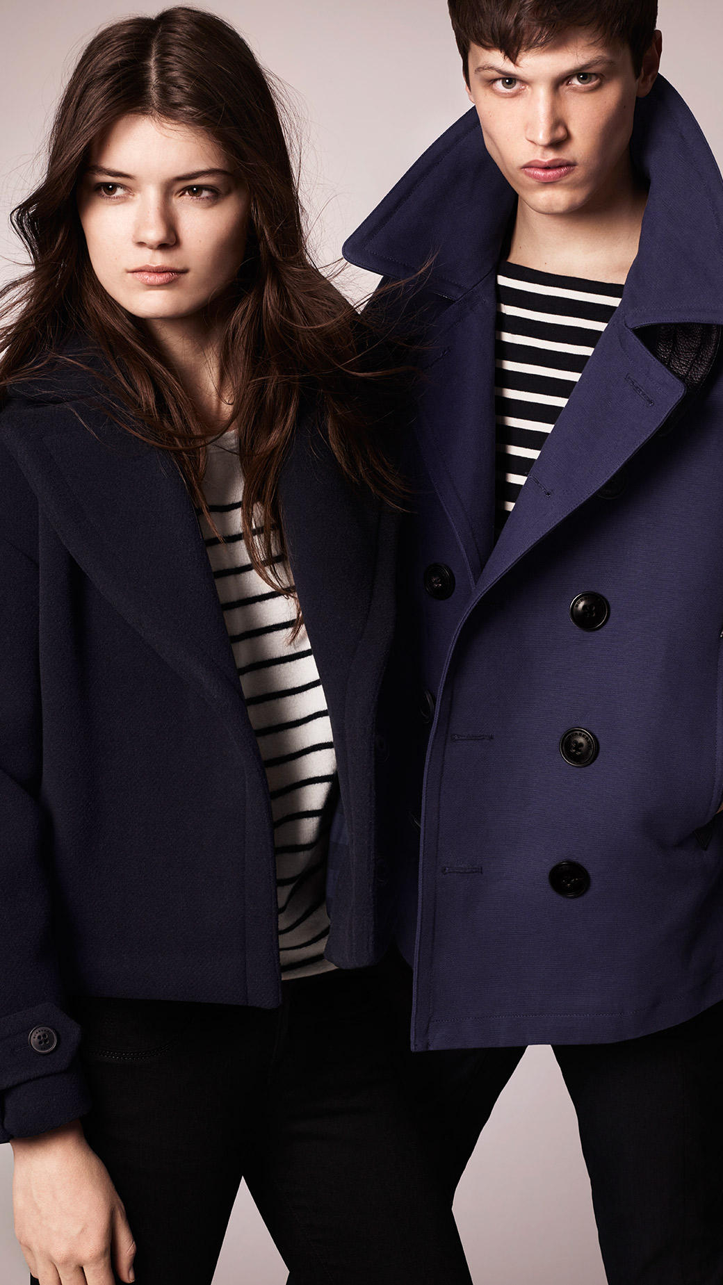 Cotton Pea Coat Women - Tradingbasis