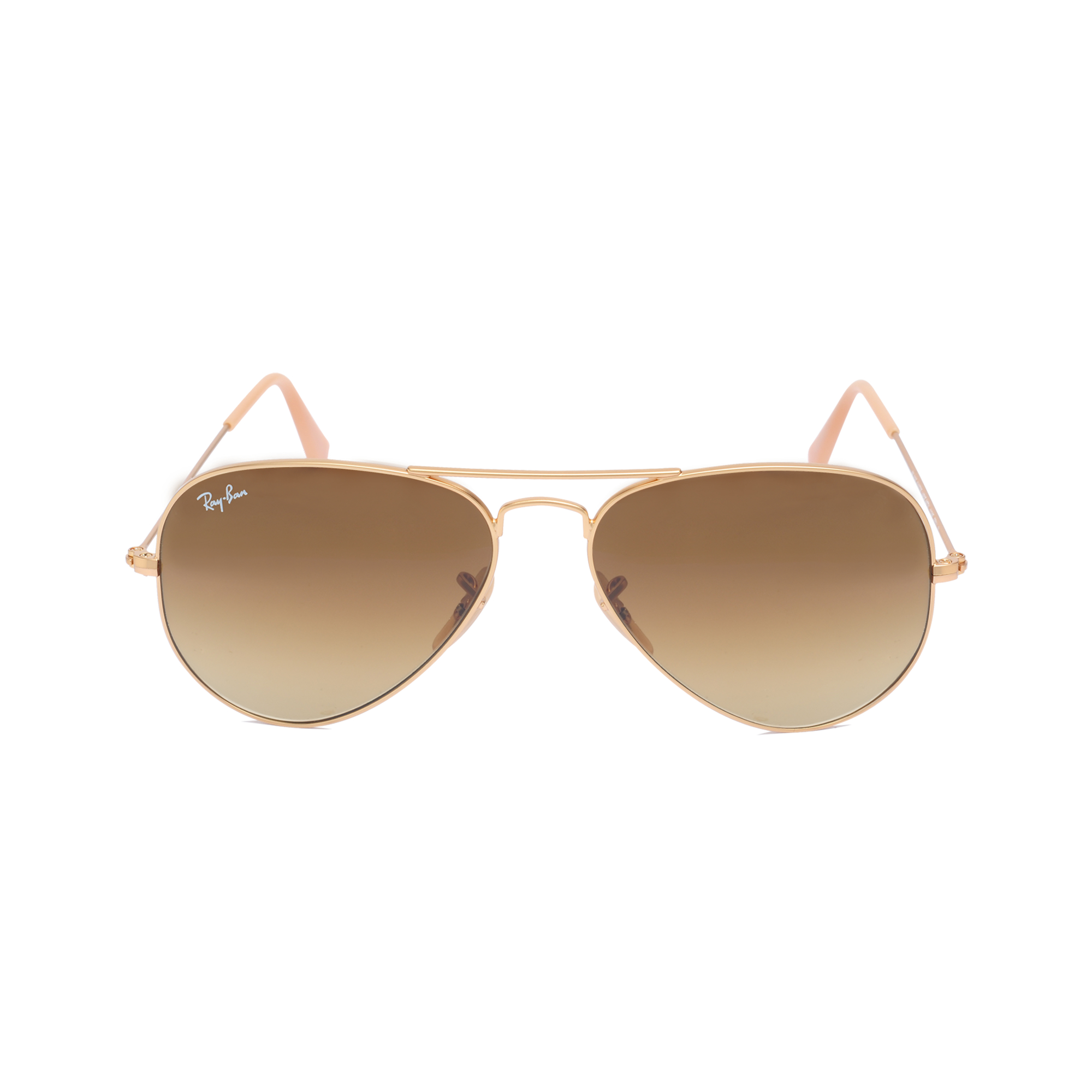 ray ban ray ban aviator 3025 sunglasses in gold lyst. Black Bedroom Furniture Sets. Home Design Ideas
