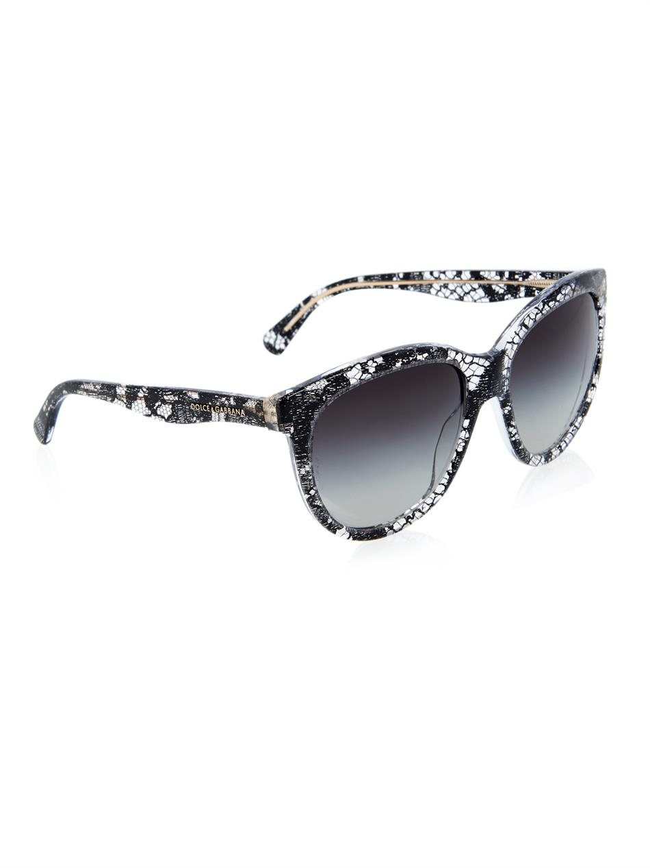 411aa2ab30d3 Dolce Gabbana Sunglasses Lace Collection