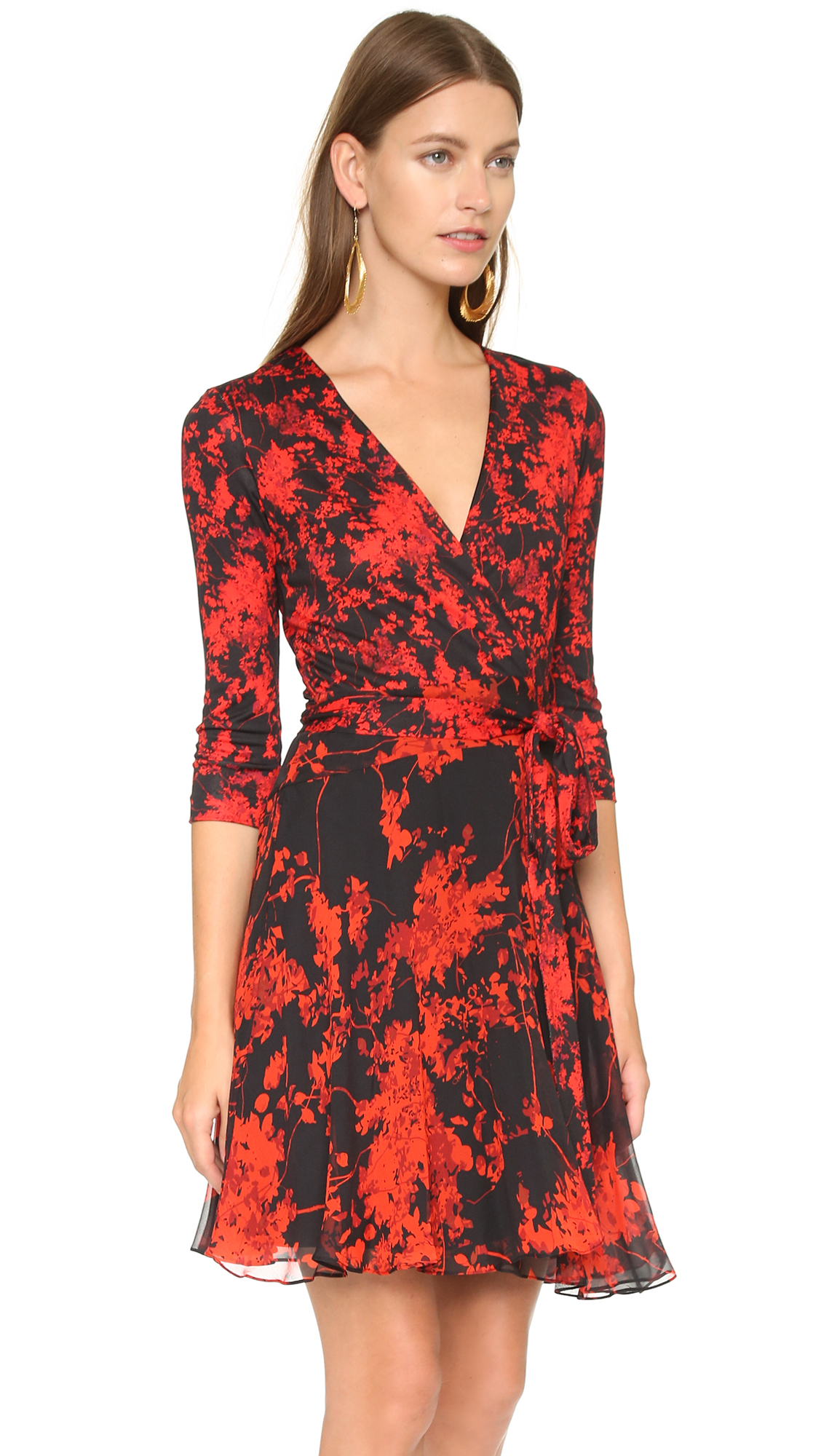 Lyst diane von furstenberg irina dress for Diane von furstenberg clothes