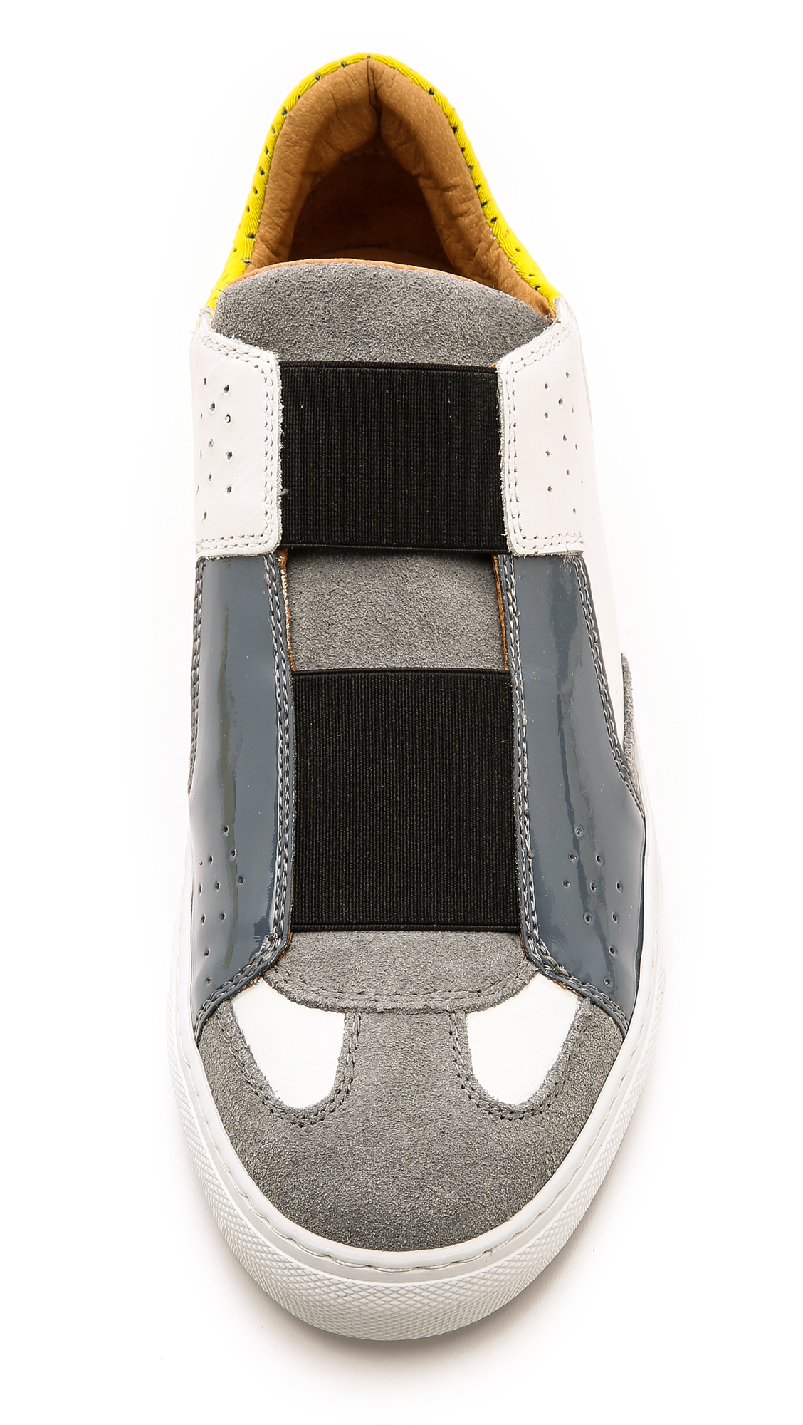 MM6 by Maison Martin Margiela Leather Sneakers
