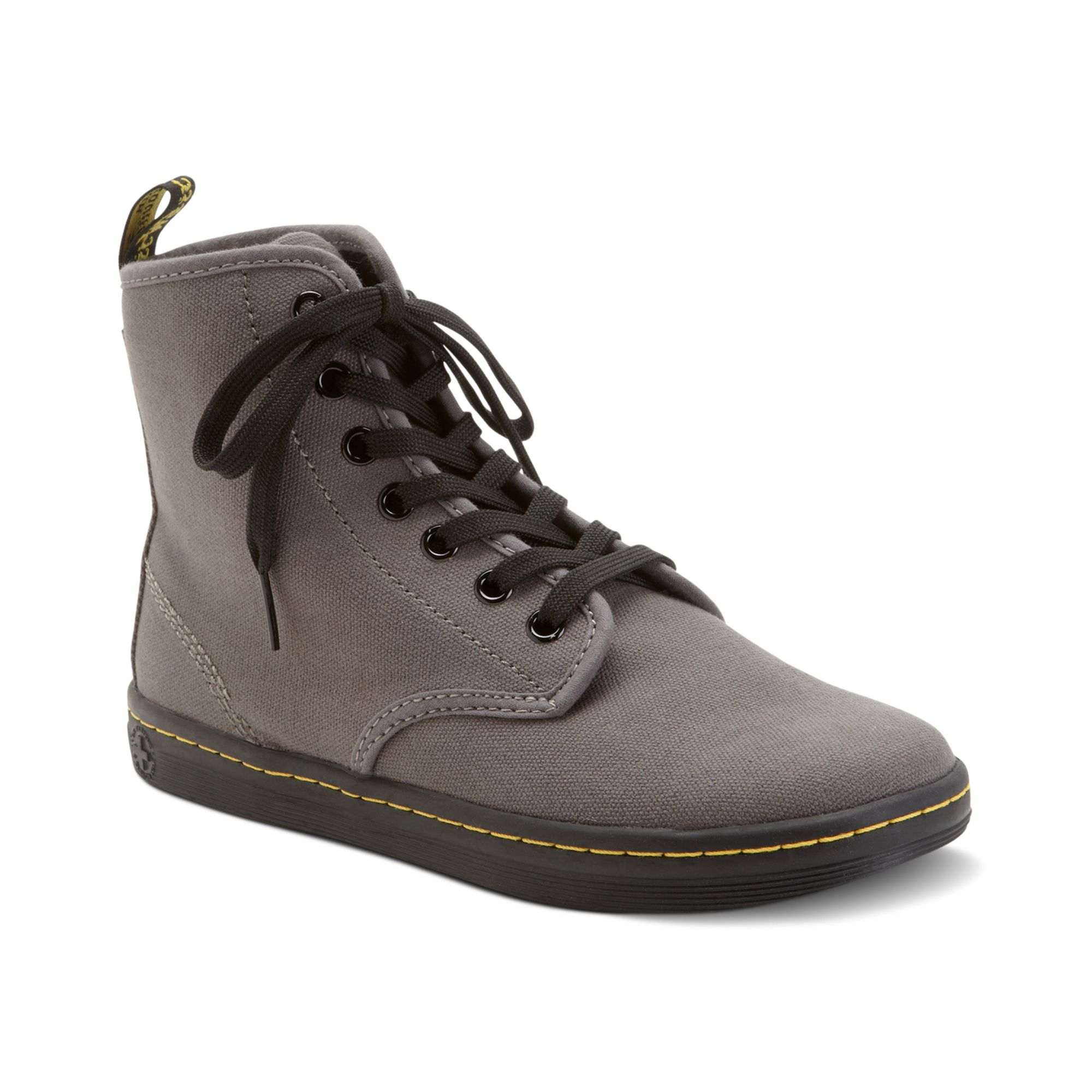 Dr Martens Shoreditch High Top Sneakers In Brown Lyst