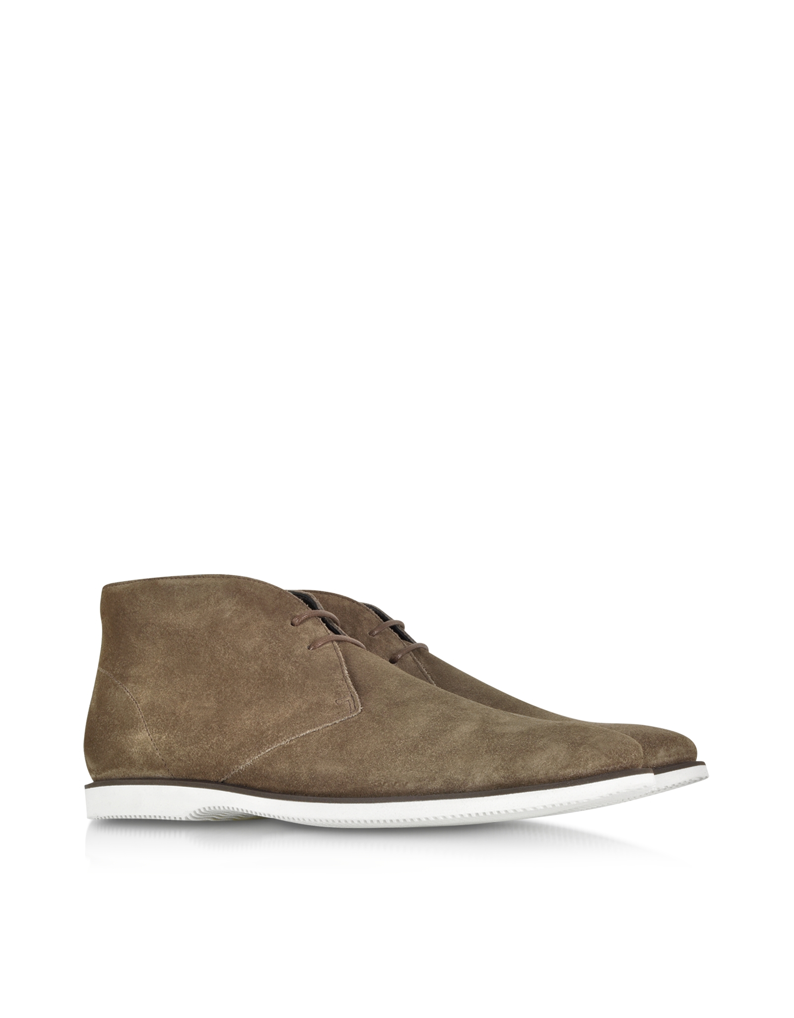 palude suede lace up ankle boots in brown for