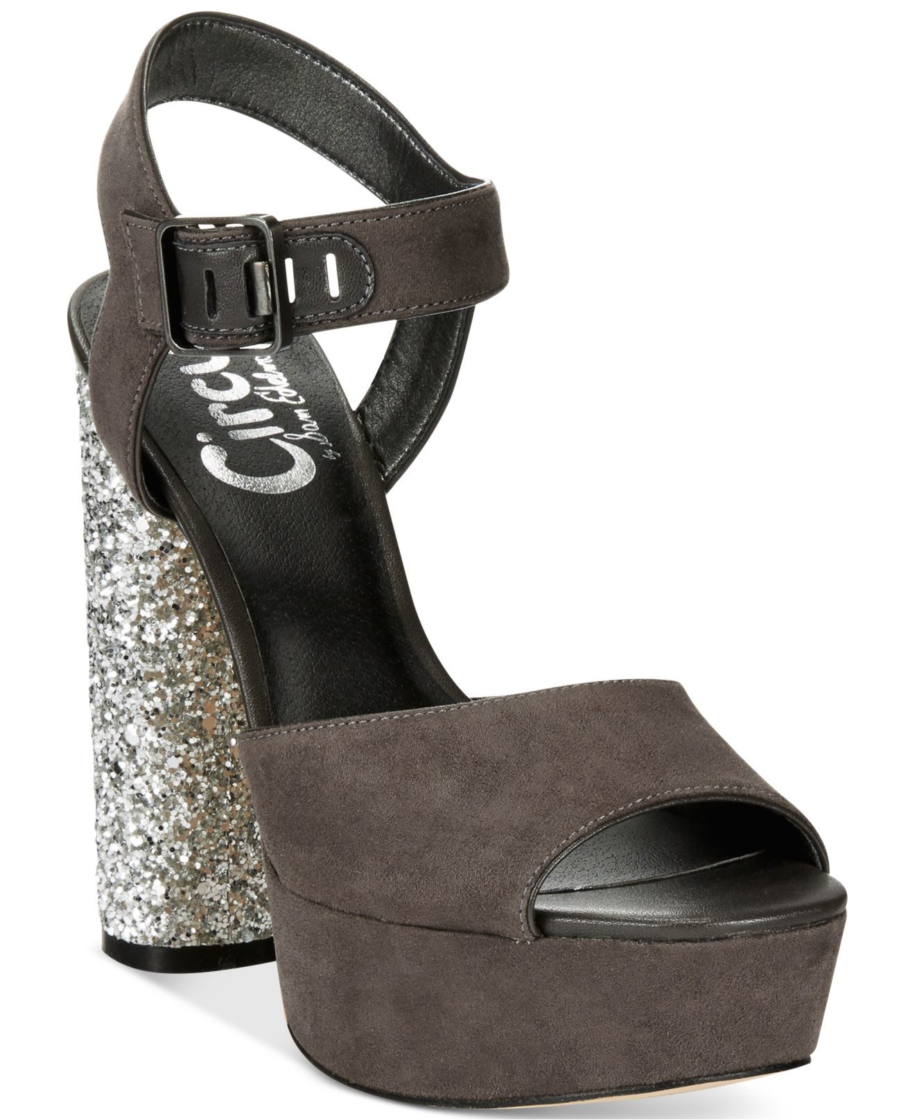 109b135c81c Lyst - Circus by Sam Edelman Cosmo Platform Sandals in Gray