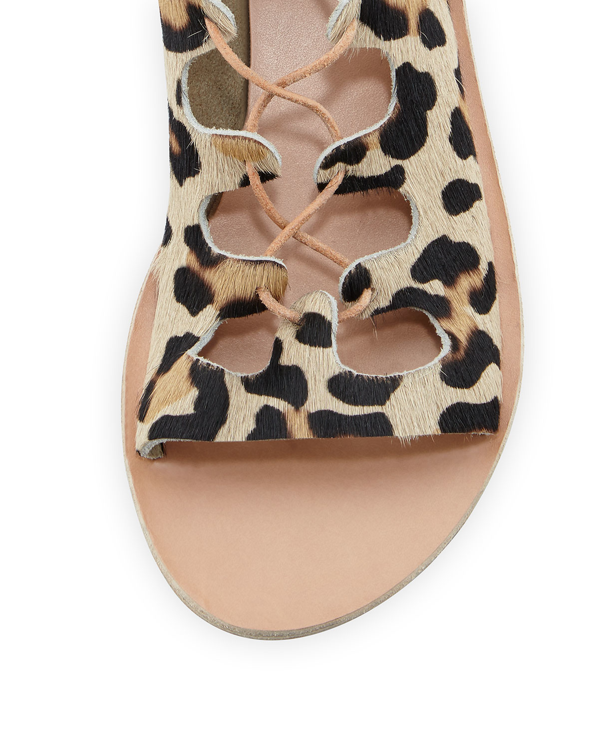Ancient Greek Sandals Antigone Leopard Print Sandals Lyst