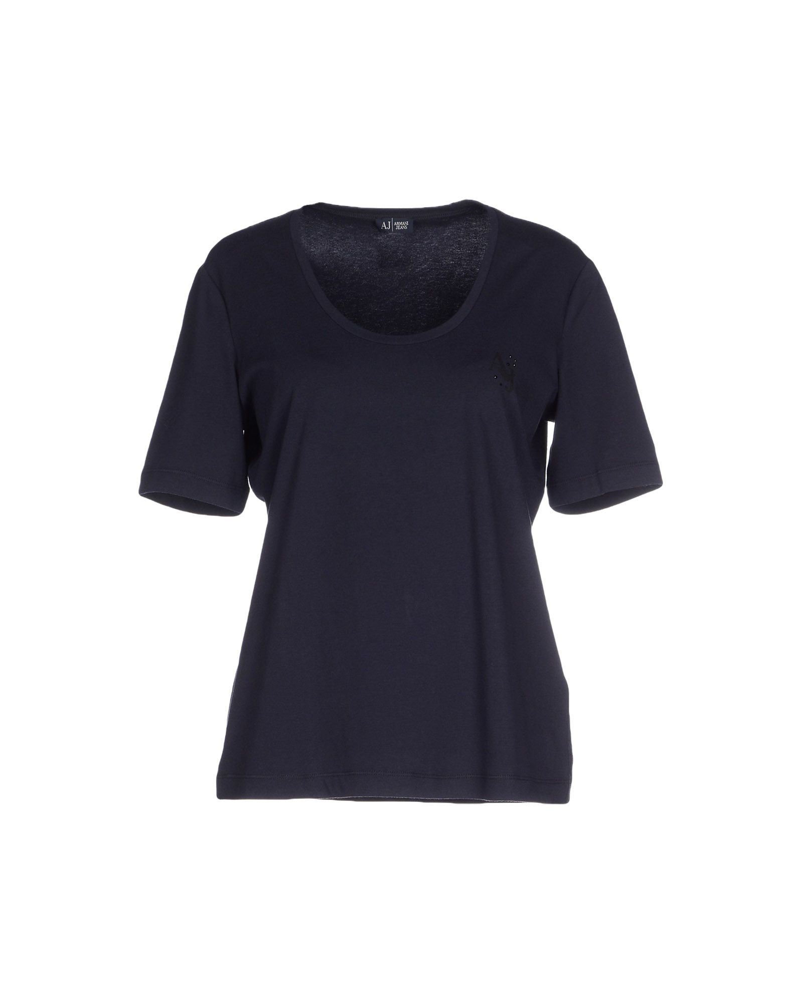 armani jeans t shirt in blue lyst. Black Bedroom Furniture Sets. Home Design Ideas