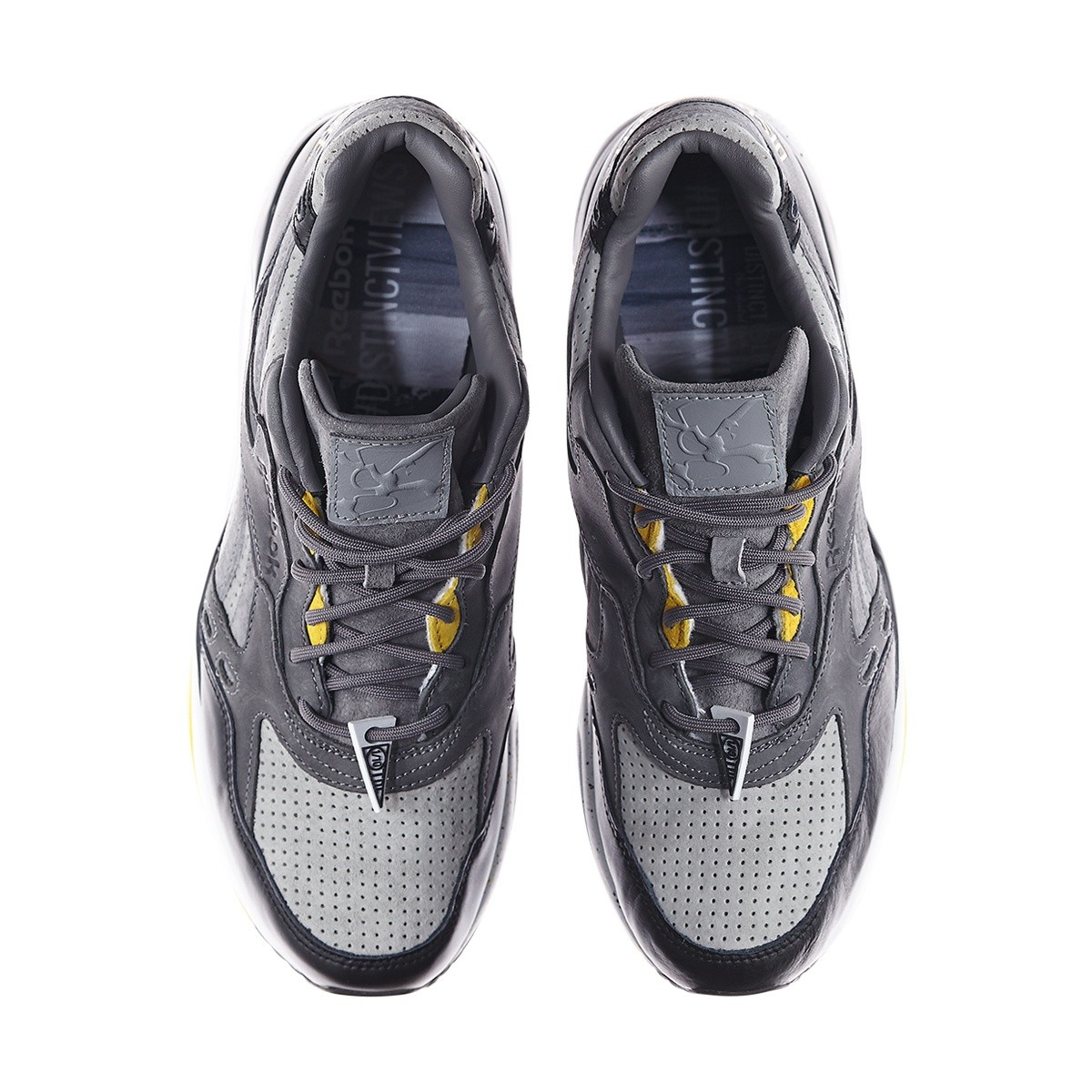 nike shox nz premium chaussures de course - Reebok Classic Suede And Mesh Trainers in Black for Men - Save 43 ...