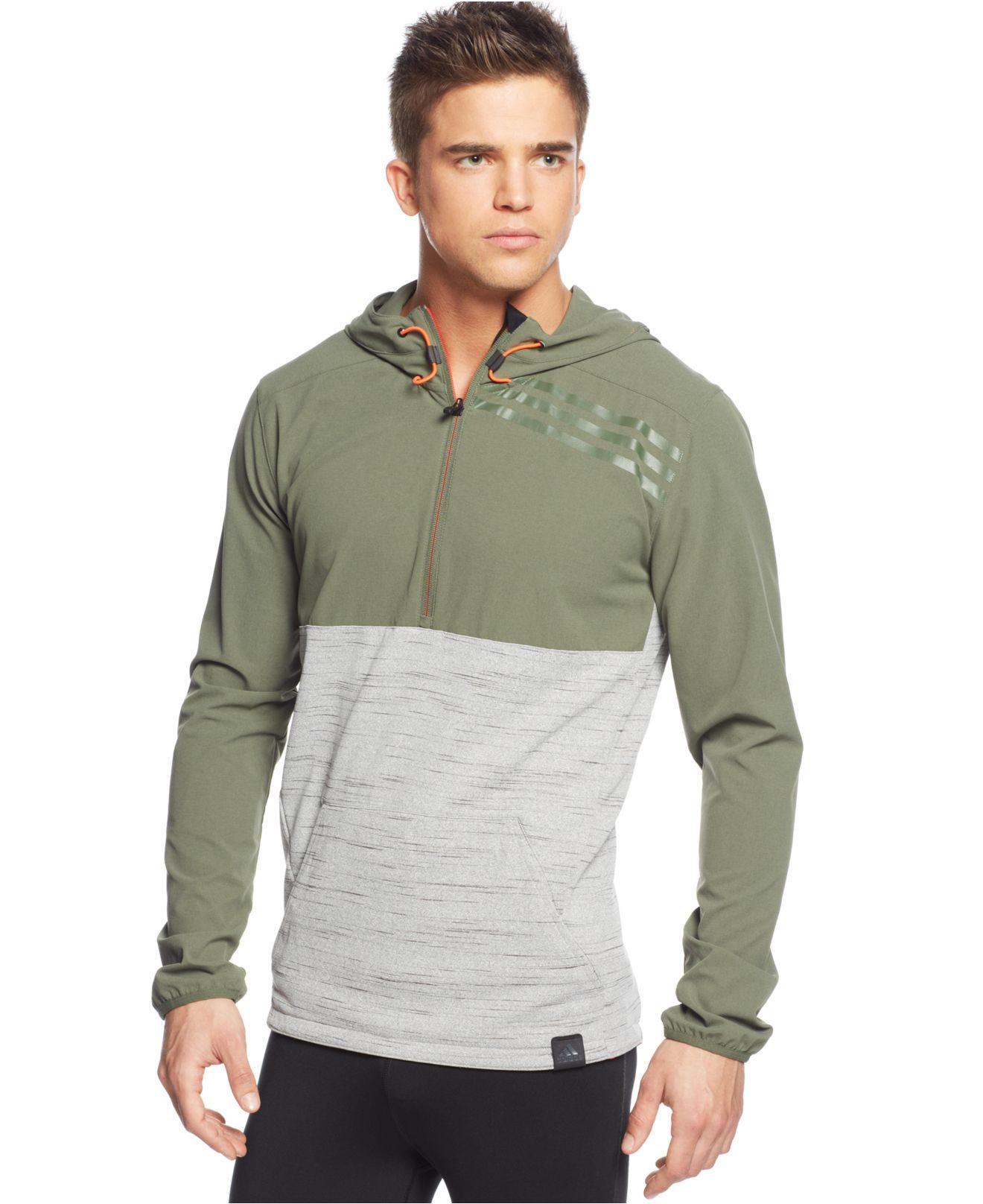 Half zip hoodies