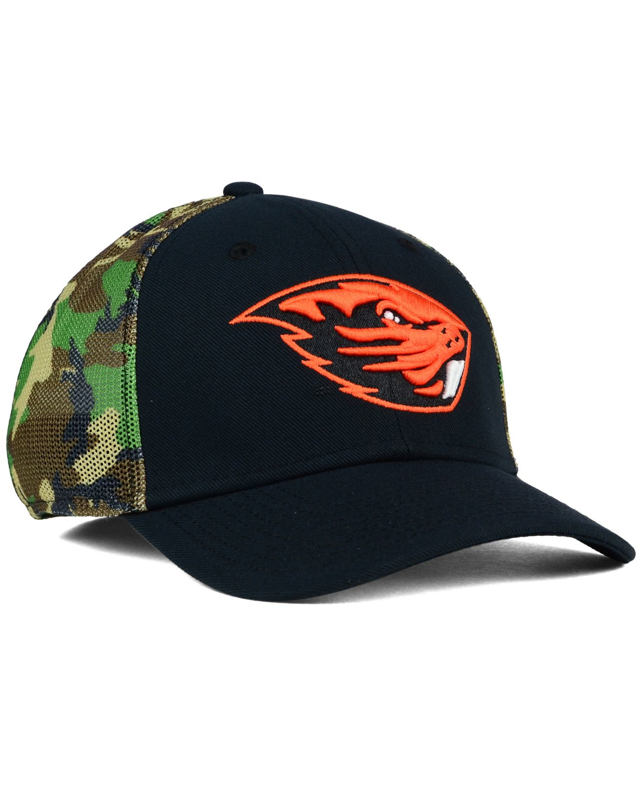 ad1bba8d9b134 ... norway lyst nike oregon state beavers camo hook swooshflex cap in green  9f00c d5570