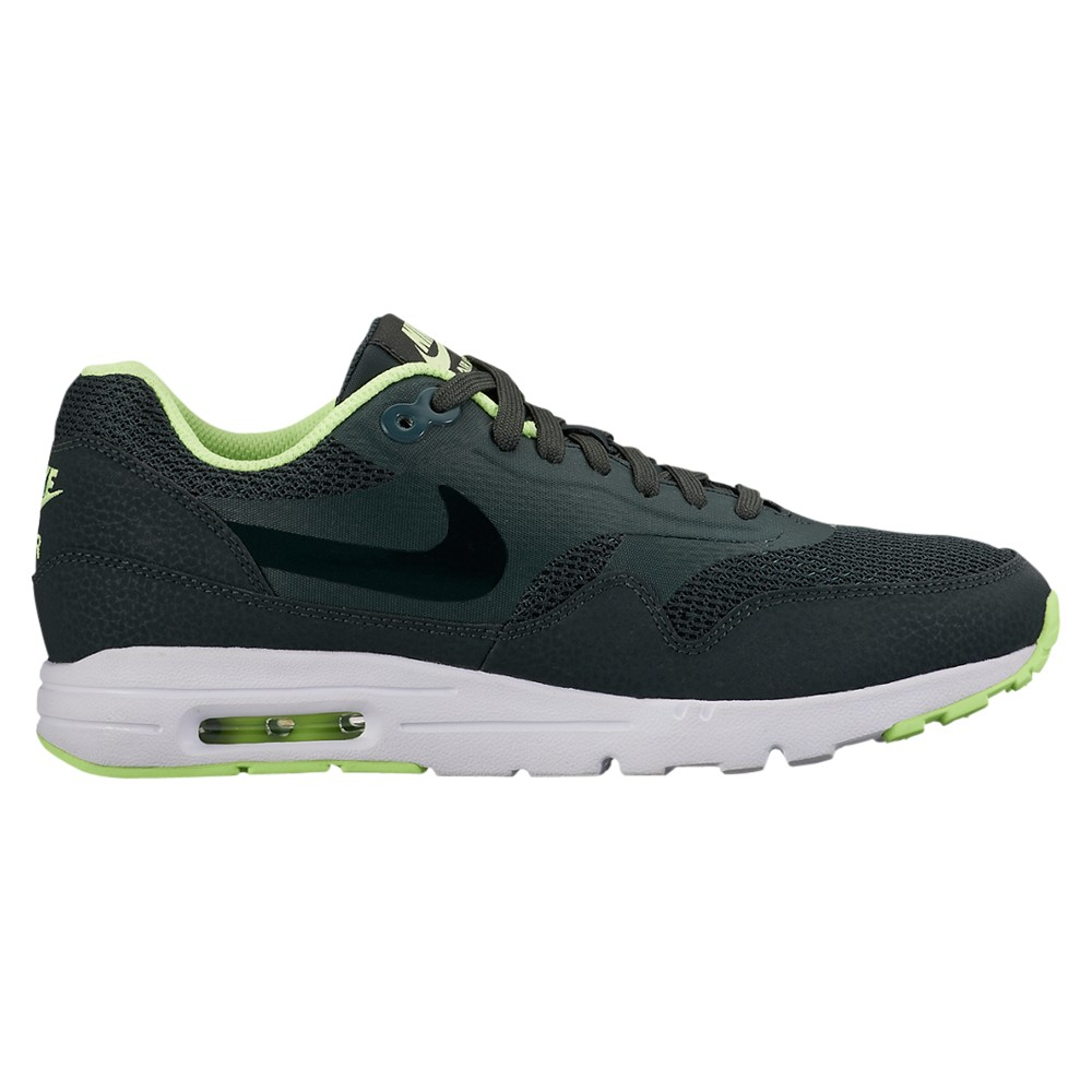 nike air max 1 essential ultra women 39 s trainers in green. Black Bedroom Furniture Sets. Home Design Ideas