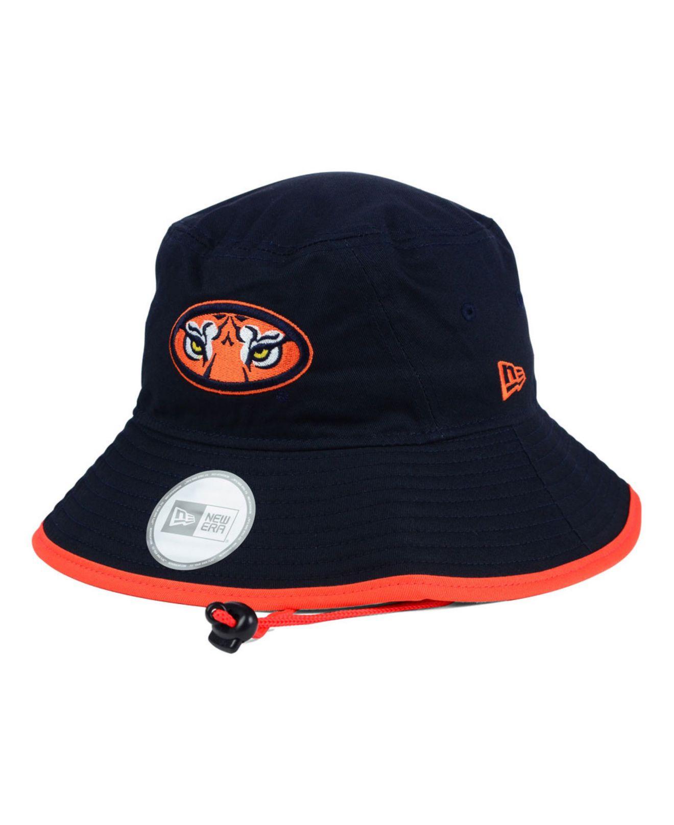 115b0ca2b13 Lyst - Ktz Auburn Tigers Tip Bucket Hat in Blue for Men