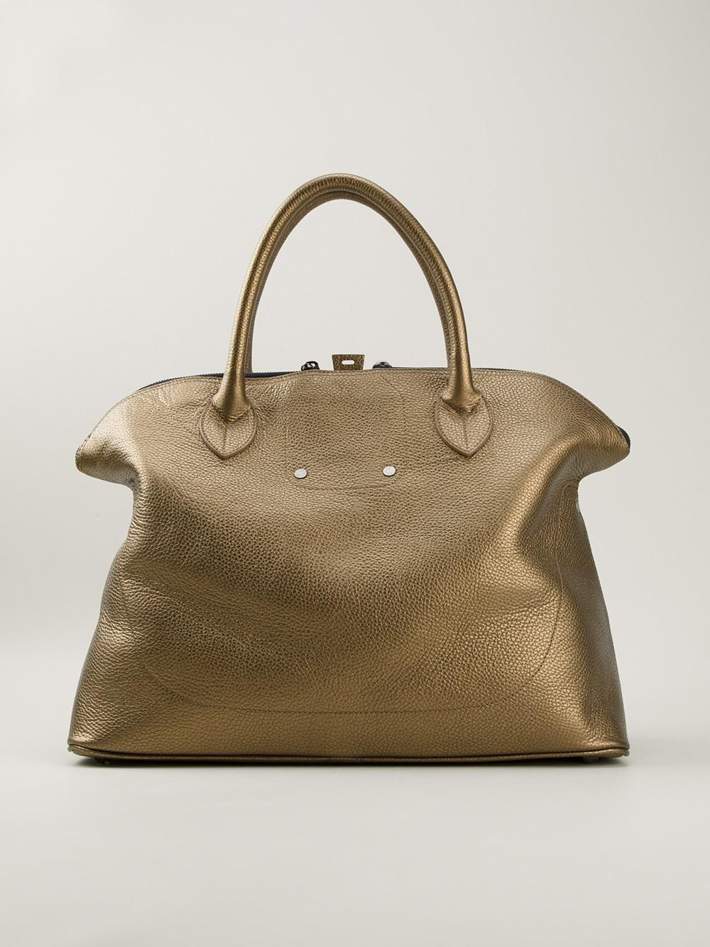 Golden Goose Deluxe Brand Metallic Tote Bag