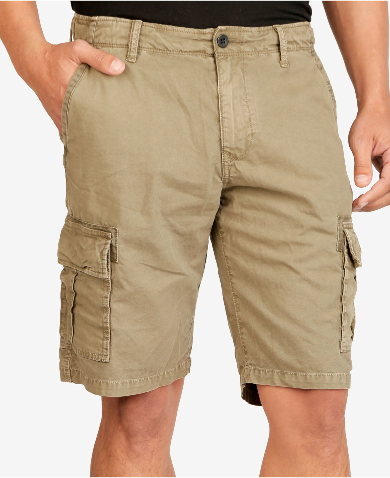 Lyst - Lucky Brand Men's Cargo Shorts in Green for Men
