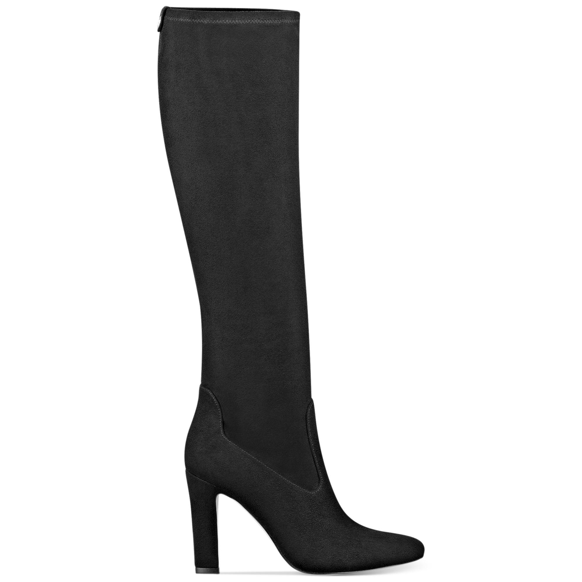 ivanka sila shaft high heel dress boots in