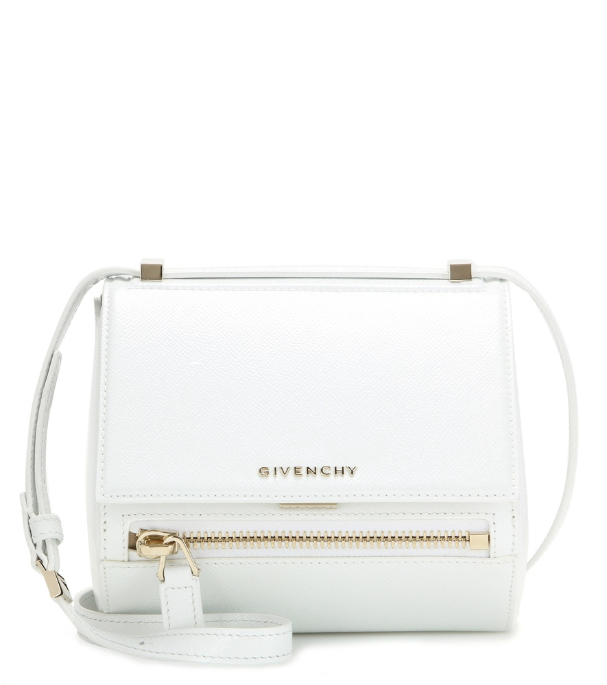 c7ecdb8162 Givenchy Pandora Bag White. Givenchy Pandora Small Grained Leather Shoulder  Bag in White