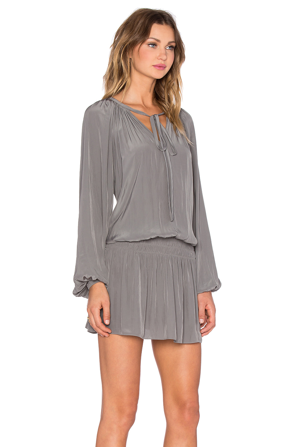 41e22a0e4c9ef Lyst - Ramy Brook Paris Dress in Gray
