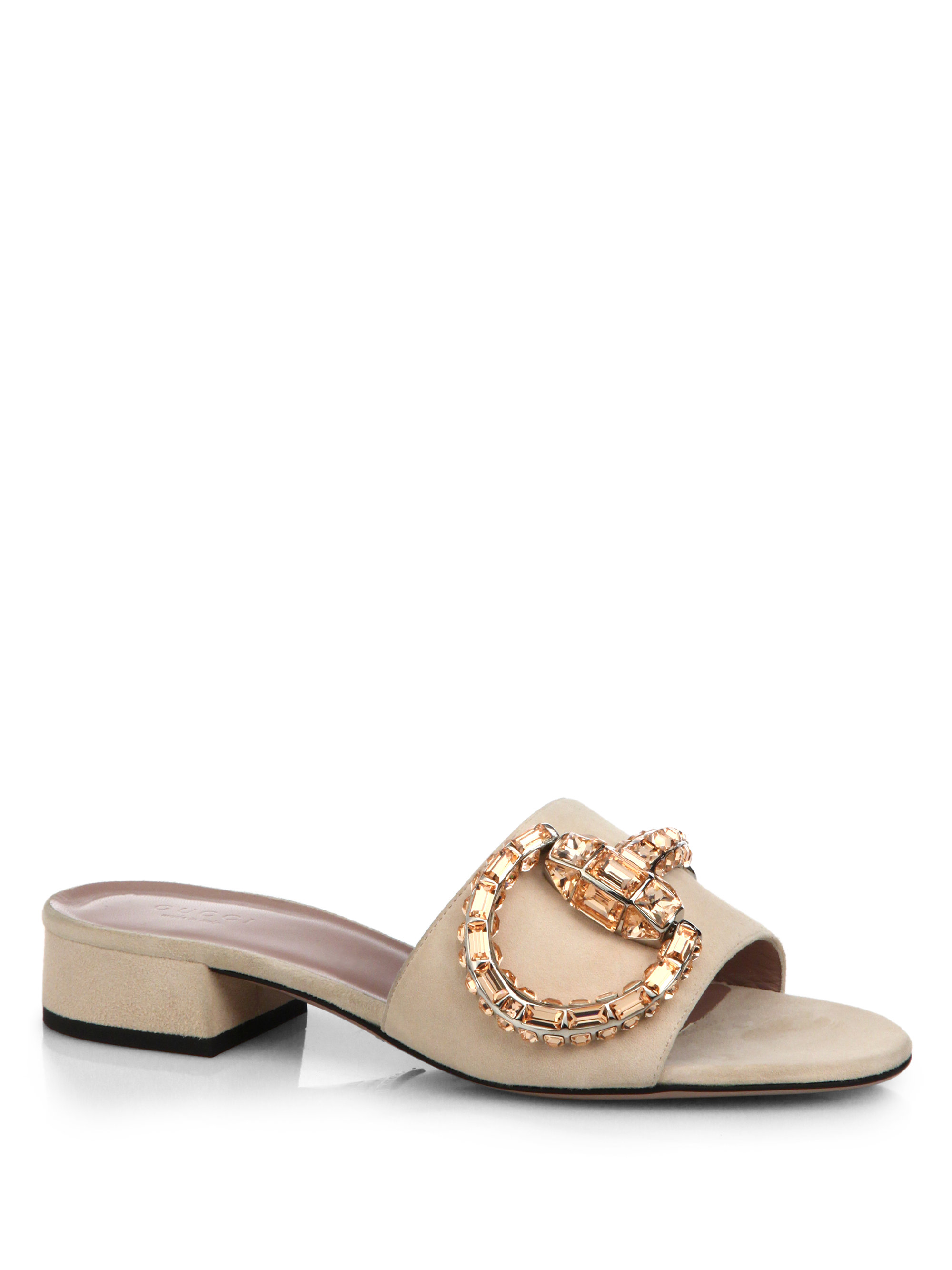 Luxury GUCCI WomenS Gucci Tian Slide Sandal At Neiman Marcus